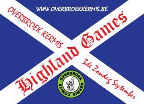 Highland Games op zondag 20/09